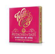 Willie's Cacao - 100% Cacao met Pistache en Dadels - 50 g