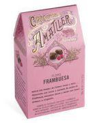 Amatller - Chocolade Bloemblaadjes met Frambozen - 72 gram