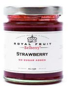 Belberry - Aardbeien confiture zonder toegevoegde suikers - 215 g
