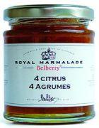 Belberry - Marmelade 4 Citrusvruchten - 215 gram