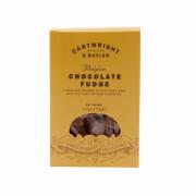 Cartwright & Butler - Belgian Chocolate Fudge in Box - 175 gram