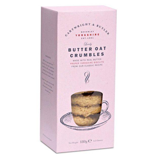 cartwright butler butter oat crumbles in doos 180g