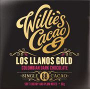 Willie's Cacao - Los Llanos Gold Colombian 88% - 50 g