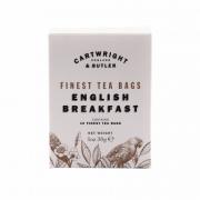 Cartwright & Butler - English Breakfast Thee - 10 x 3 gram