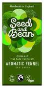 Seed & Bean - Pure Chocolade 58% - Venkel - 85 gram