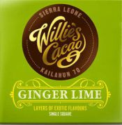 Willie's Cacao - Puur Ginger Lime - Sierre Leone - 50 g