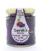 Sarah's Honey - 2 soorten Bessen - 220 g