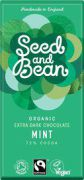 Seed & Bean - Pure Chocolade 72% - Mint - 85 g