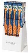 Simon Coll - Mini Chocoladereepjes met Giraffe - 3 x 18 g
