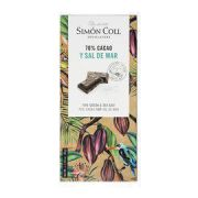 Simon Coll - Pure chocolade 70% met Zeezout - 85 g