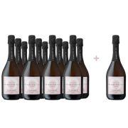 Sparkling Tea LYSERØD - voordeelpakket 11 + 1 gratis - 0,75 - Alcoholvrij