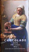 Van der Burgh - Het Melkmeisje - Melkchocolade 34% - 100 g