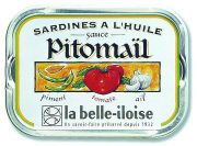 la Belle-Iloise - Sardines à la sauce Pitomaïl - 115 g
