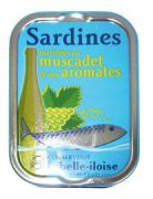 la Belle-Iloise - Sardines in de Muscadet - 115 g